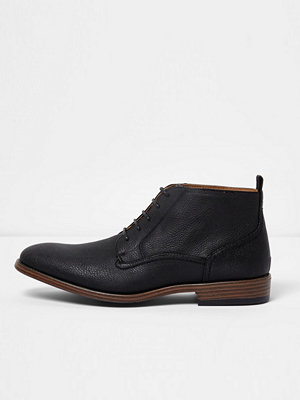 Boots & kängor - River Island Black chukka boots