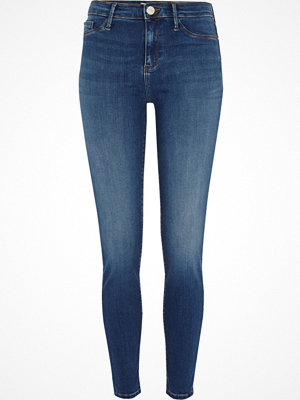 River Island Mid Blue Molly skinny jeggings