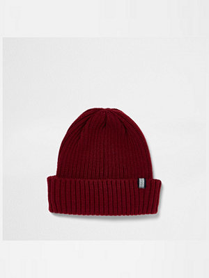 Mössor - River Island Red fisherman beanie hat