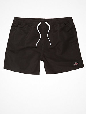 Badkläder - River Island Black swim shorts