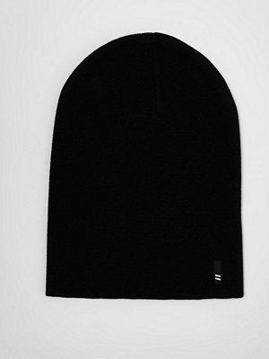 Mössor - River Island River Island Mens Black slouchy beanie hat