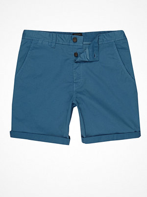 Shorts & kortbyxor - River Island River Island Mens Blue chino shorts