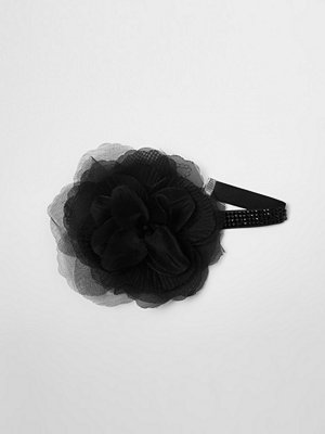 River Island halsband River Island Womens Black oversized flower corsage choker