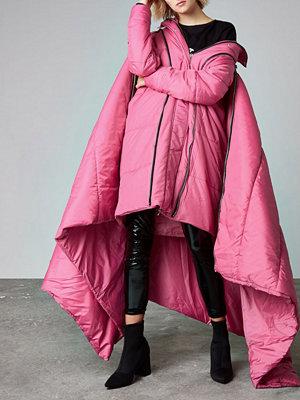 River Island Pink Ashish puffer sleeping bag coat