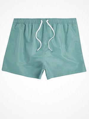 Badkläder - River Island Light Blue swim shorts