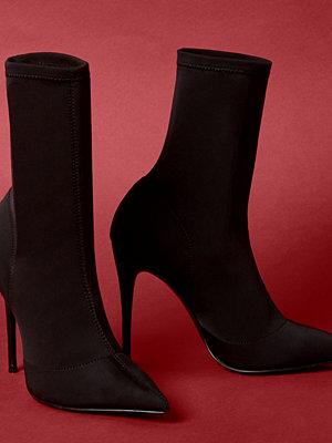 Boots & kängor - River Island River Island Womens Black pointed scuba sock boots
