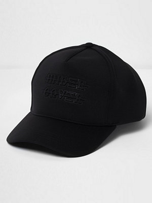Mössor - River Island Black 'under cover' scuba baseball cap