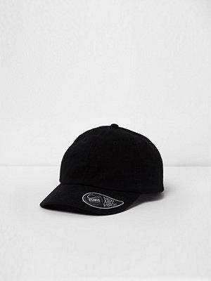 Mössor - River Island River Island Mens Black baseball cap