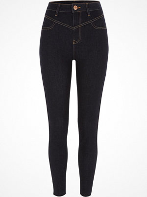 River Island Dark Blue super skinny going out jeans