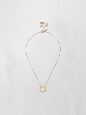 River Island halsband River Island Womens Gold tone circle necklace