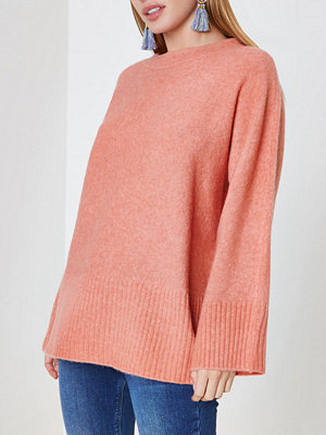 River Island River Island Womens Petite Orange tie back jumper