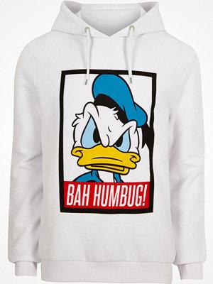 Street & luvtröjor - River Island River Island Mens White Donald Duck Christmas hoodie
