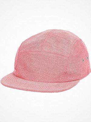 Mössor - River Island Pink chambray cap