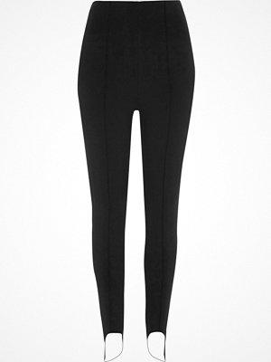 Leggings & tights - River Island Black stirrup leggings