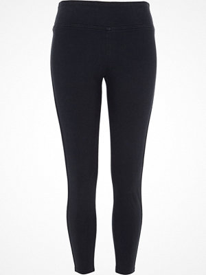 River Island Navy denim look leggings