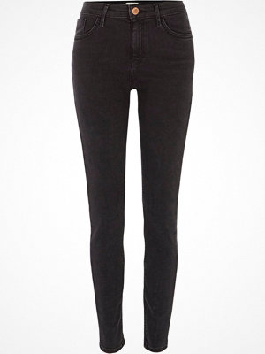 River Island Washed Black Amelie super skinny jeans