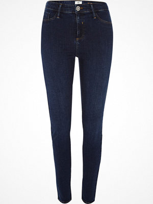 River Island Dark Blue Molly jeggings