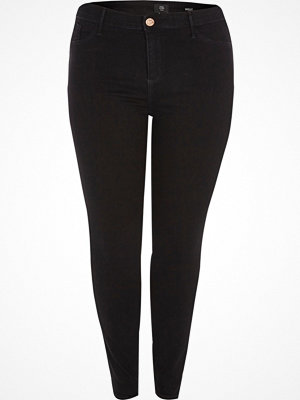 River Island Plus Black Molly jeggings