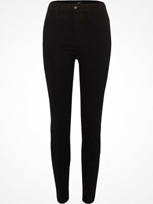River Island Black high waisted Harper skinny jeans