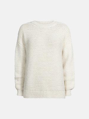 Bik Bok Apple stickad tröja - Offwhite