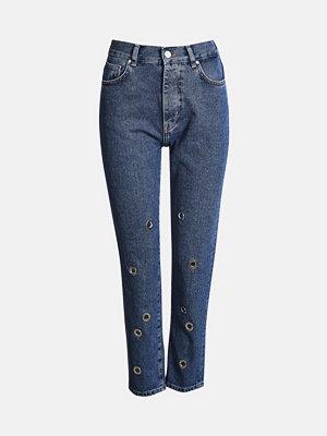 Bik Bok Mom Circle jeans - Blå