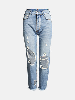 Bik Bok Mom Ripped jeans - Blå
