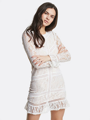 Bik Bok Nicole klänning - Vit