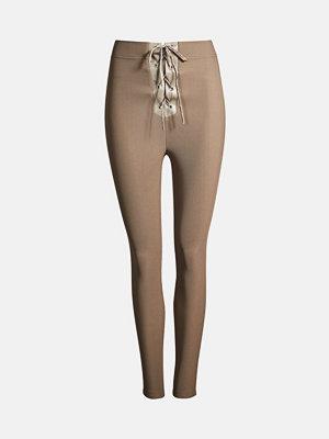 Bik Bok Kendall leggings - Ljusgrå
