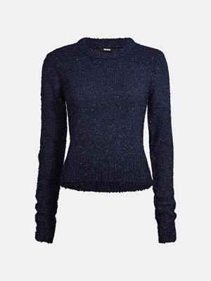 Bik Bok Sammie stickad tröja - Mörkblå