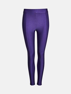Leggings & tights - Bik Bok Sandy leggings - Plommon