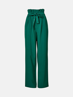 Bik Bok mörkgröna byxor Amy byxa - Grön