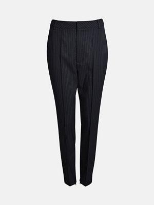 Bik Bok svarta randiga byxor Iris Suit byxa - Multi