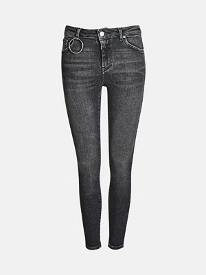 Bik Bok Higher F Coal jeans - Mörkgrå