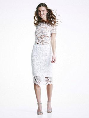 Bik Bok Ingrid kjol - Vit