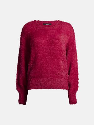 Bik Bok Wendy stickad tröja - Körsbärsröd