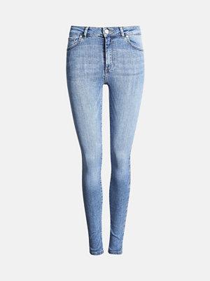 Jeans - Bik Bok Higher Hawk jeans - Blå