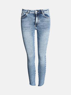 Bik Bok Higher F Laguna Ankle jeans - Blå