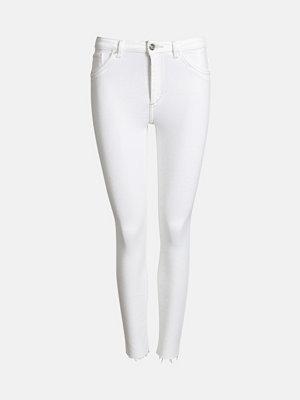 Bik Bok Higher F Winter jeans - Vit