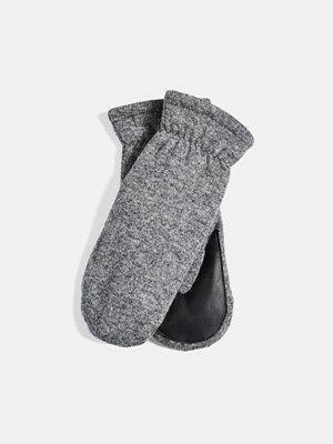 Bik Bok Warm gloves - Melerad grå