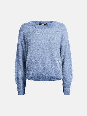 Bik Bok Wendy stickad tröja - Ljusblå