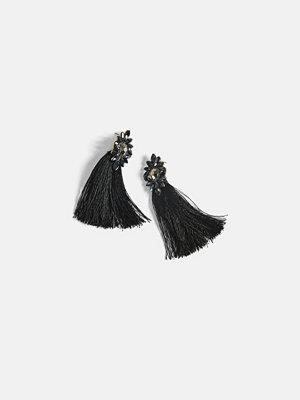 Bik Bok örhängen Blair earrings - Svart