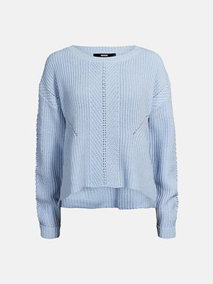Bik Bok Roman stickad tröja - Blå