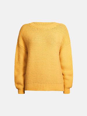 Bik Bok Apple stickad tröja - Gul