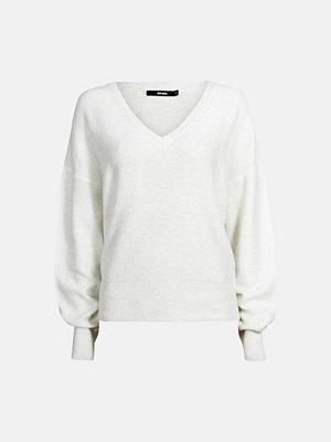 Bik Bok Sonia stickad tröja - Ljusgrå