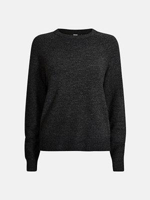 Bik Bok Alexa stickad tröja - Mörkgrå