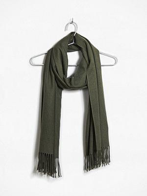Halsdukar & scarves - Bik Bok Maysi halsduk - Kakigrön