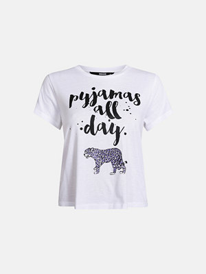 Pyjamas & myskläder - Bik Bok Olaf t-skjorta - Offwhite