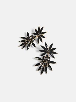 Bik Bok örhängen Chloe earrings - Svart