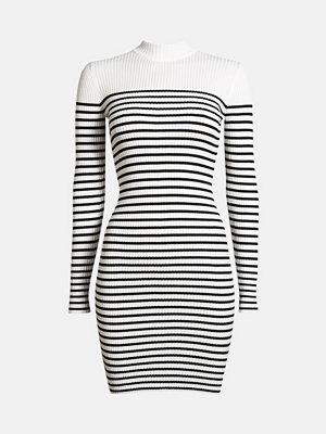 Bik Bok Rebecca klänning - Svartvit