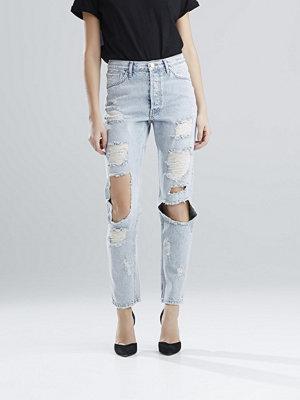 Bik Bok Debbie Trash jeans - Blå